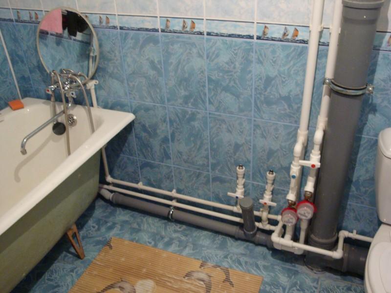 Как правильно сделать канализацию в ванной комнате